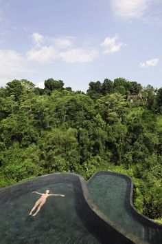 Ubud Hanging Gardens in Bali//