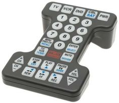 Great remote control for the visually impaired