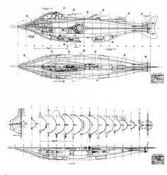 Afbeeldingsresultaten voor Jules Verne Nautilus Submarine Plans