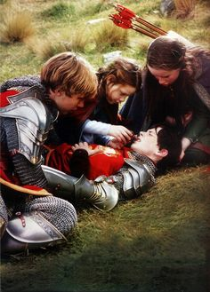 My favorite part! It is the moment you find out Peter really loves Edmund, and truly forgave him