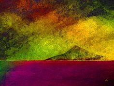 'Feuerland' von Dirk h. Wendt bei artflakes.com als Poster oder Kunstdruck $19.41