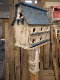 Purple Martin House, Large Bird House, Functional Bird House, Rustic Bird House…