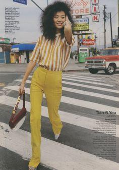 April 2015 Lucky Magazine, Capri Pants, Style, Fashion, Swag, Moda, Capri Trousers, Stylus, La Mode