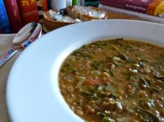 Lentil Swiss Chard Soup with 5 Weight Watchers PointsPlus - Easy, healthy, satisfying and delicious!