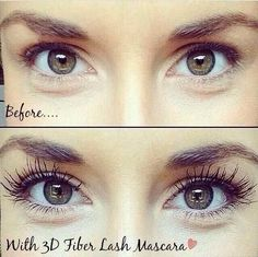 Younique's 3D fiber lash mascara. Transform your lashes! You have nothing to lose. Take the 14 day challenge- and if you don't like them then simply return it! Younique backs their products with the love it guarantee! Visit www.youniqueproducts.com/karleeprins to order yours!