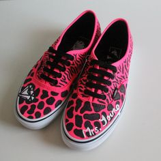 Custom Animal Print Shoes (Toms, Vans, or Flats).