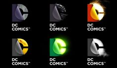 DC Comics Logo Refurbishment #Comics #logo #redesign