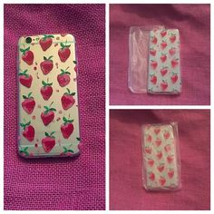 New Cute Raining Strawberries iPhone 6/6s case New Super Cute Raining Strawberries iPhone 6/6s case.   💫iPhone 6/6s case 💫Soft case 💫Cute strawberry designs 🍓🍓🍓  💚 I accept reasonable offers & give discounts on bundles, so ask away! 💚 Accessories Phone Cases