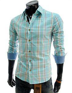 Slim Fit Checker Shirt