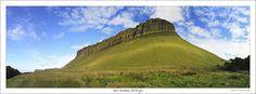 Monument valley in county Sligo