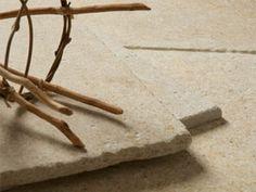 Salem Gold Tumbled Limestone: unfilled and tumbled