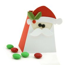 AND....look at this cute Santa treat box!