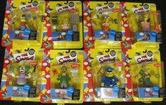 The Simpsons Action Figures Playmates Set of 8 Mr. Burns Otto Krusty Bartman etc