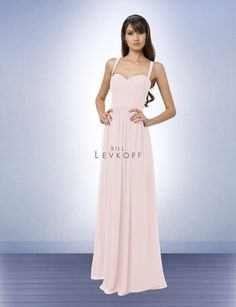 Bridesmaid Dress Style 769 - Bridesmaid Dresses by Bill Levkoff Colors: Champagne or Petal Pink