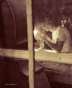 #ferron, violin maker in  Cremona, #italy