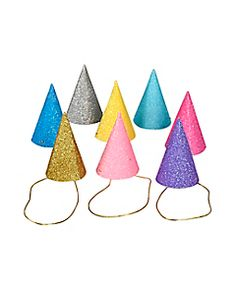 Mini Party Hats 8 Pack