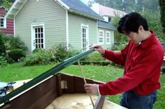 Build a cold frame: Many gardeners are anxious to get started outside in the early spring but are forced to battle frost. The natural warmth of this mini greenhouse lets you foster seedlings in before the warmer months, plus it will keep veggies going through fall and even into winter.
