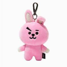 Official BTS Merchandise by Line Friends - CHIMMY Character Doll Keychain Ring Cute Handbag Accessories (Designed by Bangtan Boys) - Cooky Knit Mittens, Knitted Gloves, Mochila Jansport, Cute Handbags, Bts Merch, Line Friends, Paisley Design, Plush Dolls, Shawls And Wraps