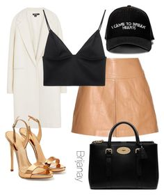 """""""DressUp"""" by briannacollins on Polyvore featuring Manolo Blahnik, T By Alexander Wang, DKNY, Giuseppe Zanotti, Mulberry, women's clothing, women, female, woman and misses"""