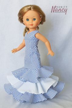 Vestidos Nancy, Pram Toys, Nancy Doll, Baby Alive, Doll Patterns, Vintage Dolls, Baby Dolls, Doll Clothes, Projects To Try