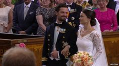 Prince Carl Philip married Sofia Hellqvist today in Sweden. I honestly like the Swedish royal family a lot. They just seem to be more down to earth.