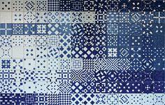 Lisboa - Museu Nacional do Azulejo Azulejos do oceanário de Lisboa - 1998 - Ivan Chermayeff mnazulejo.imc-ip.pt/ExposAct/ExpoPerm/ContentDetail.aspx?... See here how it is used at the Lisbon Oceanarium: www.flickr.com/photos/24151359@N04/5045347706/in/photostr...