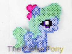 My Little Pony Silly Filly Perler Ponies: Flitter on Etsy, $9.00