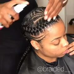 African Braids Hairstyles 607211962243104593 - with nappyme Source by Braided Cornrow Hairstyles, Cornrow Braid Styles, Feed In Braids Hairstyles, Braids Cornrows, Ghana Braids, Hairstyles 2018, Children Braided Hairstyles, Cornrolls Hairstyles Braids, Feed Braids