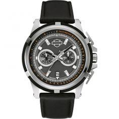 HARLEY DAVIDSON Bracelet Chronograph 76B168