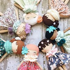 Our beautiful #helloolliecollection has now sold out, but there are a couple of openings left for January Custom Orders.   And our next collection of fabrics will be coming soon too!  The February restock will be for Valentines Day  I can't wait to share it with you! #spuncandydolls #etsyseller #thankyou #handmadewithlove #handmadedolls