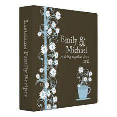 Daisy Tea Party Recipe Collection Binder $21.95