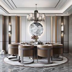 French Interior, Luxury Interior, Interior Architecture, Interior Design, Dinning Table Design, Dining Area, Home Room Design, House Design, Luxury Cafe