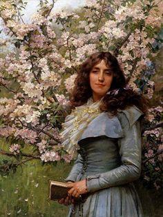 Robert Payton Reid (scottish painter) - Serenity