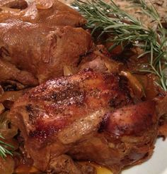 Drunken Slow-Cooker Cornish Hens