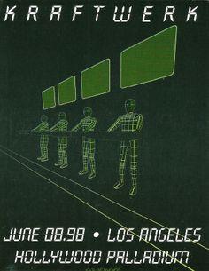 Kraftwerk. Los Angeles, CA. 1998