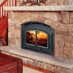 Heatilator Wood Burning Fireplace Insert Masonry Details