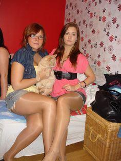 Dziewczyny w rajstopach