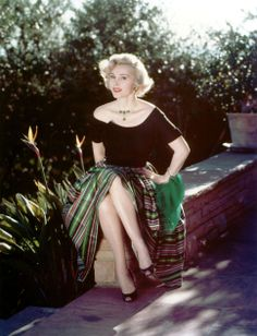 Zsa Zsa Gabor ~ I love this dress.
