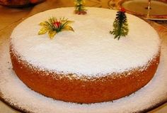 A delicious vasilopita recipe, infused with the aromas and blends of oranges and garnished with a thick and glossy vanilla scented sugar glaze or sprinkled with icing sugar! Vasilopita is a traditi. Vasilopita Cake, Xmas Food, Christmas Sweets, Christmas Time, Christmas Signs, Sweets Cake, Cupcake Cakes, Merida, Mudpie