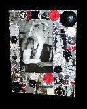 Shimmer... Pretty Little Things Marilyn Monroe theme mixed media theme frame
