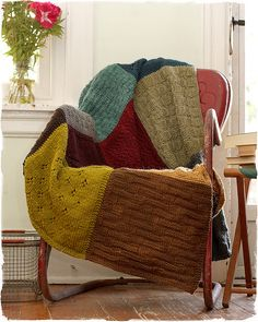 Old Sweaters Blanket...so coool.  Want to do this