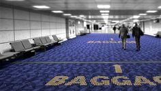 Philips créé un tapis à LED, ciblant notamment les aéroports et grands comptes orientant du public... #innovation