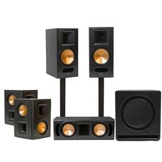 The Reference Series RB 81-II home #theater system by Klipsch will bring groundbreaking sound to your home. Check out more and share! | Burke, VA | Intuitive Home Automation & Security