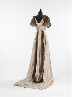 Dress, Evening  Callot Soeurs  (French, active 1895–1937)    Designer…
