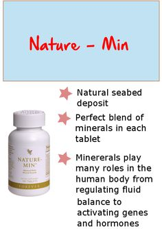 Nature-Min is an advances multi - mineral formula using a new bio - available form of selenium for maximum absorption.