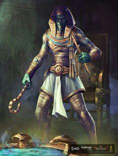 Egyptian god Osiris
