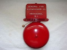 Fire Alarm Bell Call Box Old Antique Gamewell Police Telephone ...