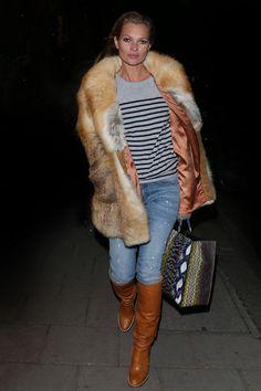 La marinière de Kate Moss   Mode  Vogue