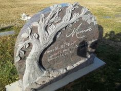 Photo of West Memorials - Memphis, TN, United States. Unique granite tree headstone designed by WestMemorials.com. Visit our site to see custom headstones, monuments and mausoleums.