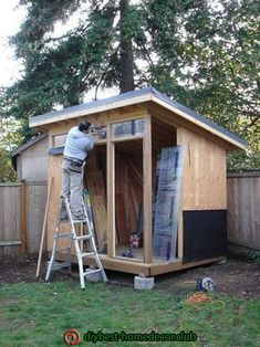 Wooden Storage Shed Plans Free-Free Lawn Ornaments Woodworking Plans Backyard Office, Backyard Studio, Backyard Sheds, Outdoor Sheds, Pub Sheds, Cheap Sheds, Studio Shed, Modern Shed, Wooden Sheds
